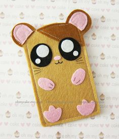iPhone sleeve felt iPhone sleeve iPhone case felt by ohmycake, $20.00
