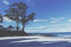 Adventure Bay Beach, Bruny Island, Tasmania, Australia - Photo by Chelsey at Chelsey Crafts