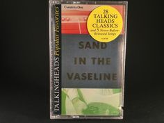 TALKING HEADS - sand in the vaseline (double album) BRAND NEW CASSETTE TAPES