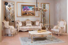 Hermes Lüks Klasik Koltuk Takımı #Koltuk #Moda #Dekorasyon #Decoration #Home…