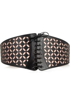 Alaïa+Laser-cut+leather+belt
