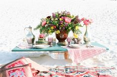 Bohemian sweetheart table | Anna Dobrydneva Photography | see more on: http://burnettsboards.com/2014/09/southeast-asian-wedding-inspiration/