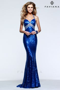 We have this fantastic gown in stock in both Blue and Red Faviana Dresses cdc7952e4a1a