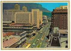 Adderly Street 1966 Adventure Movies, Historical Pictures, Grand Hotel, Countries Of The World, Cape Town, Empire State Building, Old Houses, South Africa, Explore