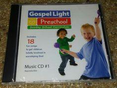 MUSIC CD 18 Worship Songs Preschool Sunday School Curriculum GOSPEL LIGHT NEW #GospelLight #GospelChristian
