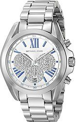 online shopping for Michael Kors Women's Bradshaw Silver-Tone Watch from top store. See new offer for Michael Kors Women's Bradshaw Silver-Tone Watch Modern Watches, Casual Watches, Watches For Men, Wrist Watches, Female Watches, Analog Watches, Michael Kors Bradshaw Watch, Michael Kors Watch, Stainless Steel Watch