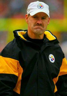 Bill Cowher - Head Coach of the Pittsburgh Steelers Happy Birthday Coach, Bill Cowher, Dan Rooney, Chuck Noll, Greg Lloyd, Jack Lambert, City Super, Here We Go Steelers, Troy Polamalu
