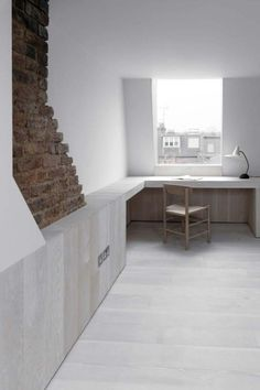 Wonderful Ideas: Minimalist Interior Grey Wall Colours how to have a minimalist home minimalism.Cozy Minimalist Home Interior Design minimalist living room with kids tiny house. Minimalist Kitchen, Minimalist Interior, Minimalist Bedroom, Minimalist Decor, Minimalist Office, Minimalist Living, Modern Minimalist, Home Interior, Interior Architecture