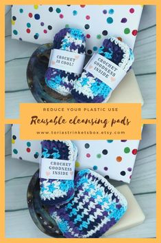 Do you want to do your part for the planet and reduce your waste?Why not try one of my cotton makeup remover pads which are both reusable, soft on your skin and good for the planet. #crochetwashcloth #zerowaste #makeupremover