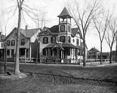 Dover, NJ - William Harris' home; corner N.Bergen & Richards Ave; view NE