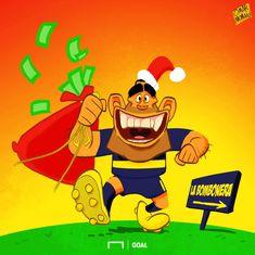 Карлос Тевес возвращается на Родину - Футбольные карикатуры - Блоги - Sports.ru
