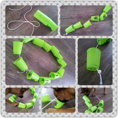 Spel 46 (hondenspel hond spel denkwerk hersenwerk brain dog game play diy) www.facebook.com/denkspellenvoorjehond