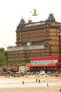 The Victorian hotel : The Grand, Scarborough, England