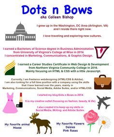 Dots N Bows: About Page #Blogger #Blogging #FBlogger #BBlogger #LBlogger #Design #GraphicDesign #AboutMe #Photoshop