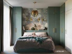 Studio Apartment Closet Ideas Basements 18 Ideas For 2019 Bedroom Furniture Design, Home Decor Bedroom, Modern Bedroom, Bedroom Wardrobe, Master Bedroom, Suites, Apartment Living, Studio Apartment, Luxurious Bedrooms
