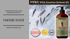 Blog Review logo for Pure Natural Wild Alaskan Salmon Oil Dog Treat Recipes, Product Review, Cute Photos, Dog Treats, Salmon, Oil, Pure Products, Pets, Natural