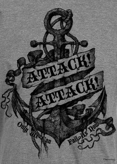 It's for Attack Attack!'s design t-shirt by Richey Beckett