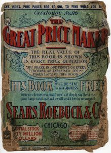 Free Vintage Image ~ 1907 Sears, Roebuck & Co. Catalogue Cover Page