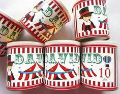 Pringles personalizados  Tema: Circo Facebook Crafts by Iris Instagram @craftsbyiris