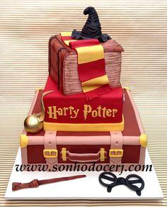 Bolo Harry Potter! (Cód: B173) More