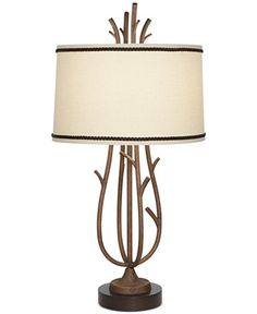 Pacific Coast Rustic Twig Cage Table Lamp