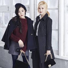 Tiffany and Seohyun for MIXXO