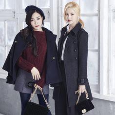 Tiffany and Seohyun for MIXXO