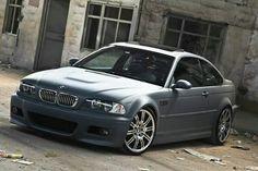 BMW E46 M3 matte grey