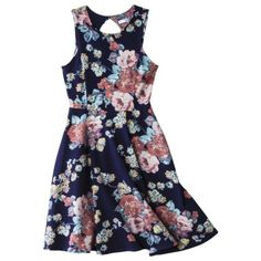 Xhilaration® Juniors Keyhole Dress - Assorted Colors
