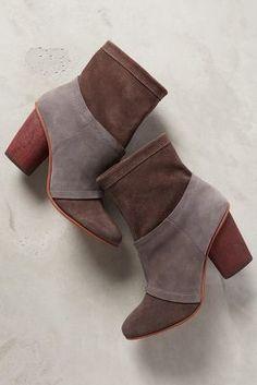 Anthropologie J Shoes Julianne Booties #anthroregistry