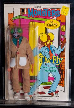 "Vintage Collectable ""Monsters of Legend"" The Fly - Toy Figure. Über rare and really cool!"