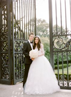 Classic, Ivory Ballroom Wedding at The Yale Club in New York City