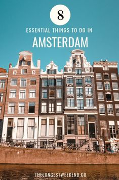 The top things to do in Amsterdam the Netherlands including the best neighborhoods top sights to see and things to eat. Amsterdam Travel Guide, Visit Amsterdam, Amsterdam City, Europe Travel Guide, Travel Guides, Amsterdam Things To Do In, Amsterdam Sights, Amsterdam Itinerary, Cool Places To Visit