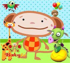 Imágenes de Baby T.V. | Ideas y material gratis para fiestas y celebraciones Oh My Fiesta! Baby Tv Cake, Mickey Mouse Art, Oh My Fiesta, Baby Kit, Parenting Teens, 1st Birthdays, Party Cakes, Little Babies, Pikachu