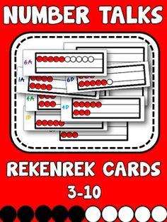 Rekenrek Number Talk Cards