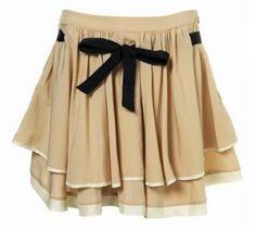 Faldas con lazos baratas 2