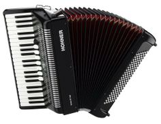 Hohner Bravo Piano Accordion, 120 Bass, Black by Hohner. $1245.95. The Bravo piano accordion series features rugged and musically versatile instrument offering performance features formerly exclusive to more expensive instruments.