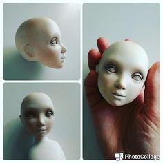 #dollmakingprocess  First 2 layers of skin tone. #dollmaking #dollmaker #sculpt #куклыручнойработы #куклаизладолла #процессработы #бжд #будуарнаякукла #handmaiddoll #handmade #лепка #студия #куклавпроцессе