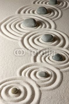Zen stones by Olga Lyubkin