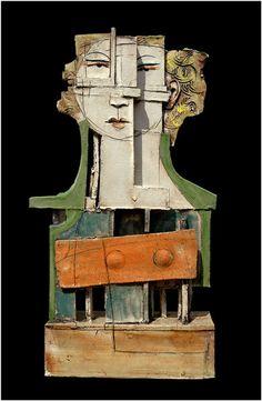 Three Dimensional Art, Christy Keeney, Bronagh, H 49cm