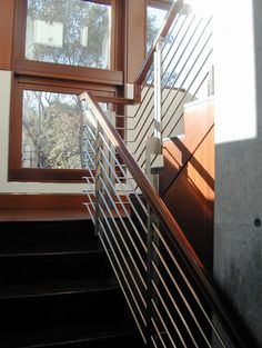 Modern Staircase Stair Railing Design, Pictures, Remodel, Decor and Ideas