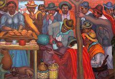 Antonio Berni Mural detalle Mural