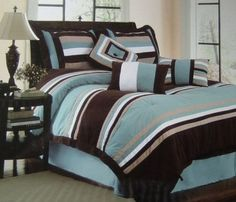 Palermo Blue Comforter Set