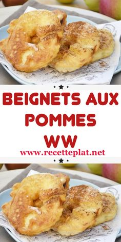 Discover recipes, home ideas, style inspiration and other ideas to try. Easy Appetizer Recipes, Easy Dinner Recipes, Easy Meals, Appetizers, Easy French Recipes, Sweet Recipes, Beignets, Ww Desserts, French Food