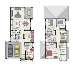 The Lorne 302 features four bedrooms, 2.5 bathrooms and a double garage.