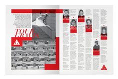Go Skateboarding Mag - Luis Vicente Hernandez | MagSpreads | Magazine Layout Inspiration and Editorial Design