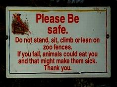 Getting sick while being eaten alive by wild animals sounds like a best case scenario.