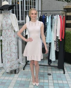 Actress Greer Grammer attends the Ted Baker London Spring/ Summer 17 Launch Dinner at The Chamberlain on March 16, 2017 in West Hollywood, California.