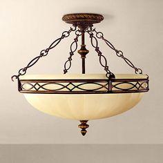 "Feiss Edwardian Collection 23"" Wide Ceiling Light Fixture - #G0448 | www.lampsplus.com"