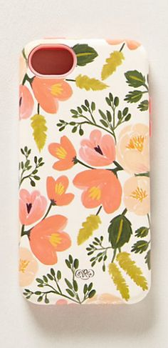 painted poppies iPhone 5 case